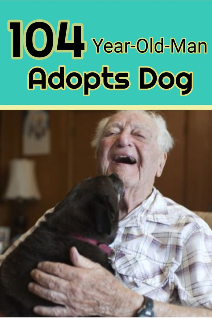 "It's never too late to adopt a dog. This man has lived over 104 years and has some very wise words to share when it comes to living a long and happy life! ""I enjoy the familiarity with them, and the pleasantness, and the bonding – especially the bonding."" Keep reading..."
