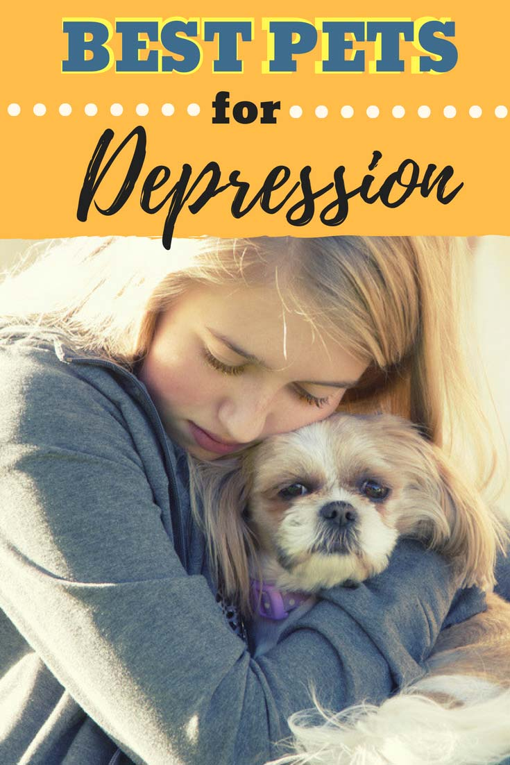 If you or someone you knows suffers from #depression or #anxiety, adopting a #Dog or #Cat can be helpful in treating symptoms. In fact, research is telling us there's something to the special bond we have with nature, animals and our beloved pets. Read this to learn about choosing the best pet for anyone with depression. #doglovers #dogs